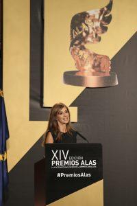 La periodista Mariló Maldonado fue la encargar de dirigir el acto de entrega de los Premios Alas