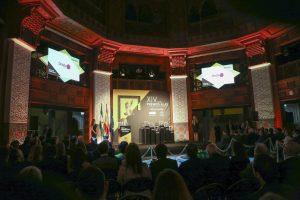 Sala de la Fundación Tres Culturas donde se desarrolló el acto de los XIV Premios Alas