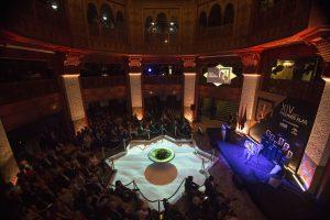 Actuación del guitarrista flamenco Diego del Morao durante el acto de los XIV Premios Alas