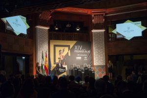 Los fundadores de Ortiz & Reed recogen su Premio Alas en la categoría de 'Ecommerce Internacional'