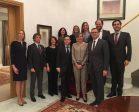 La consejera delegada de Extenda, Vanessa Bernad, en la Embajada de España en Polonia