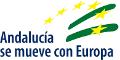 Logo Andalucía se Mueve con Europa