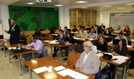 Asistentes a la jornada sobre oportunidades multilaterales en Perú