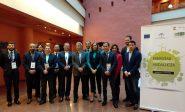 La consejera delegada de Extenda, Vanessa Bernad, en la apertura de la misión inversa de energías renovables