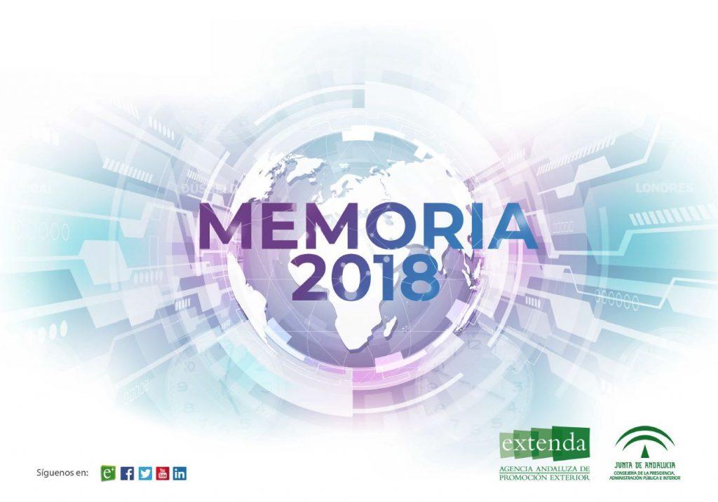portada Memoria Extenda 2018